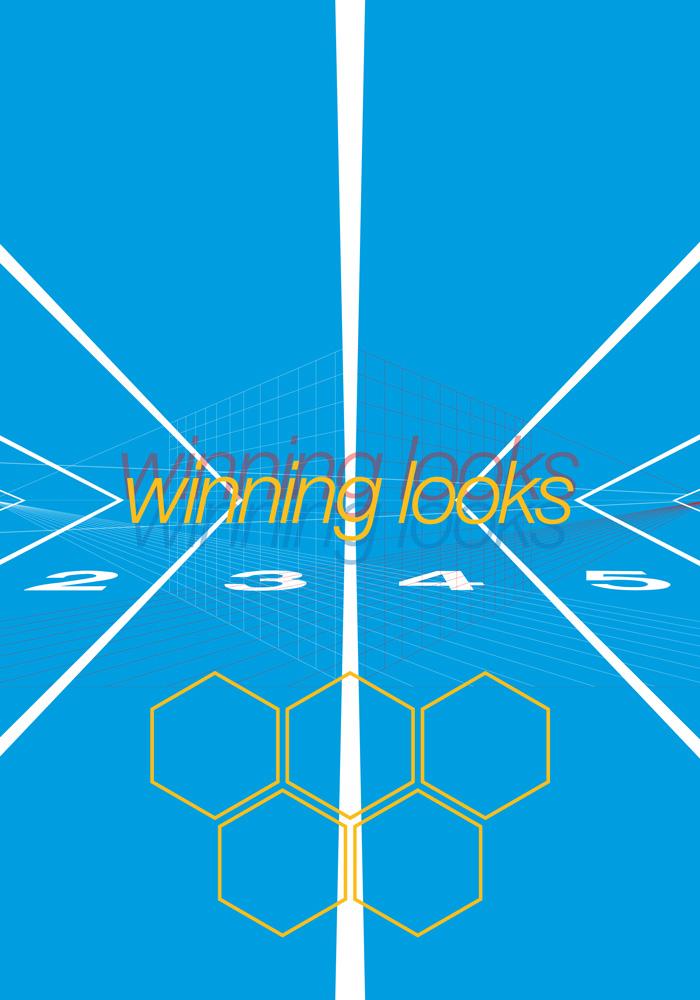 Winning looks voor de Bijenkorf affiche