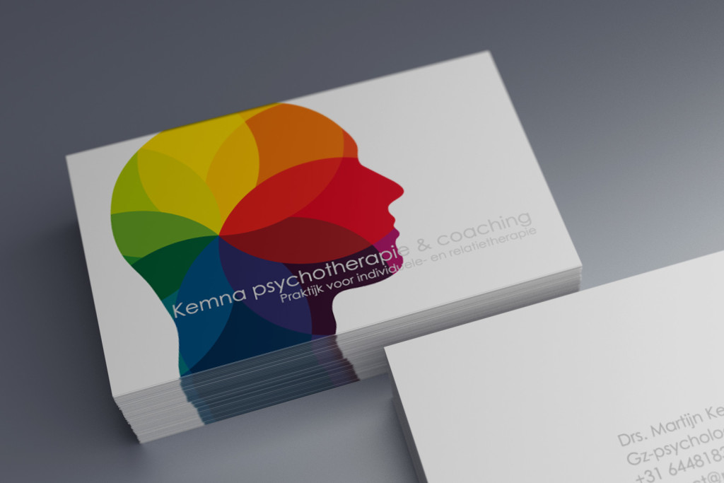 Business Card Praktijk Kemna.