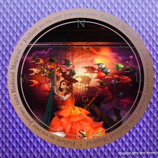 Etalage Radical Magical Kerst de Bijenkorf 2011