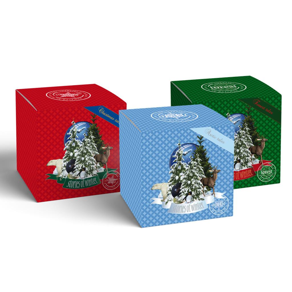 Stories of Winter, gift box.